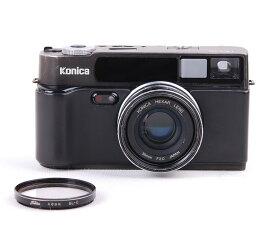 【コレクション美品 Pro-Half 1号机】Konica/コニカ Hexar 35mm F2レンズ付き ブラックボディー#jp18837