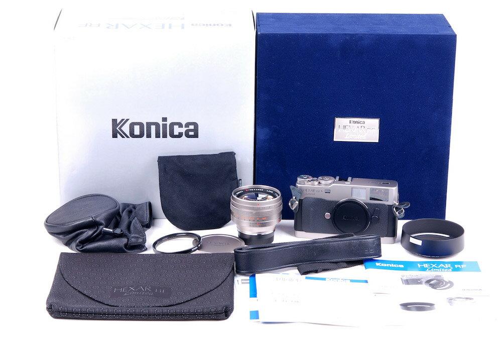 【限定新品】Konica/コニカ HEXAR RF + M-HEXANON 50/1.2セット#jp21299