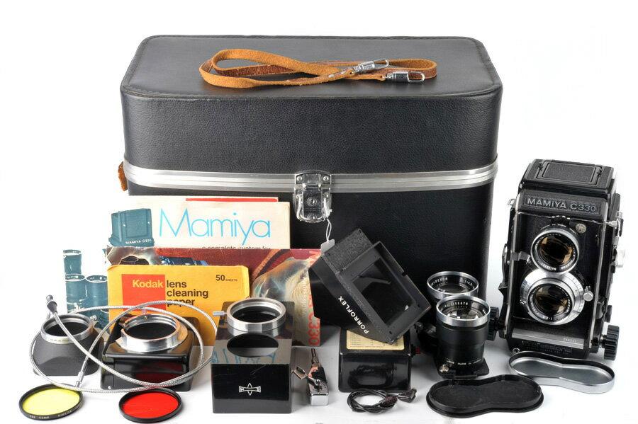 マミヤMAMIYA C330 80mm f2.8 +SEKOR 135mm f4.5 箱付#33054