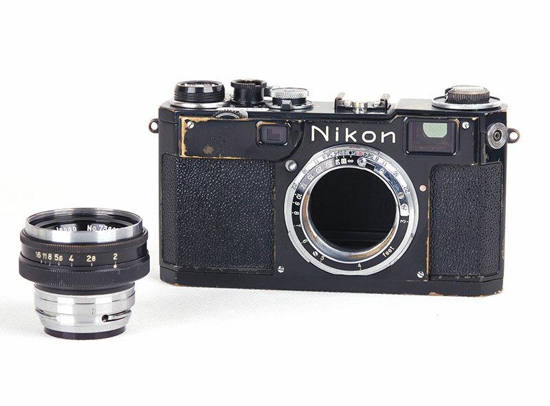 大珍品Nikonニコン S2 + 50mm f2 black paint ブラックペイント後期