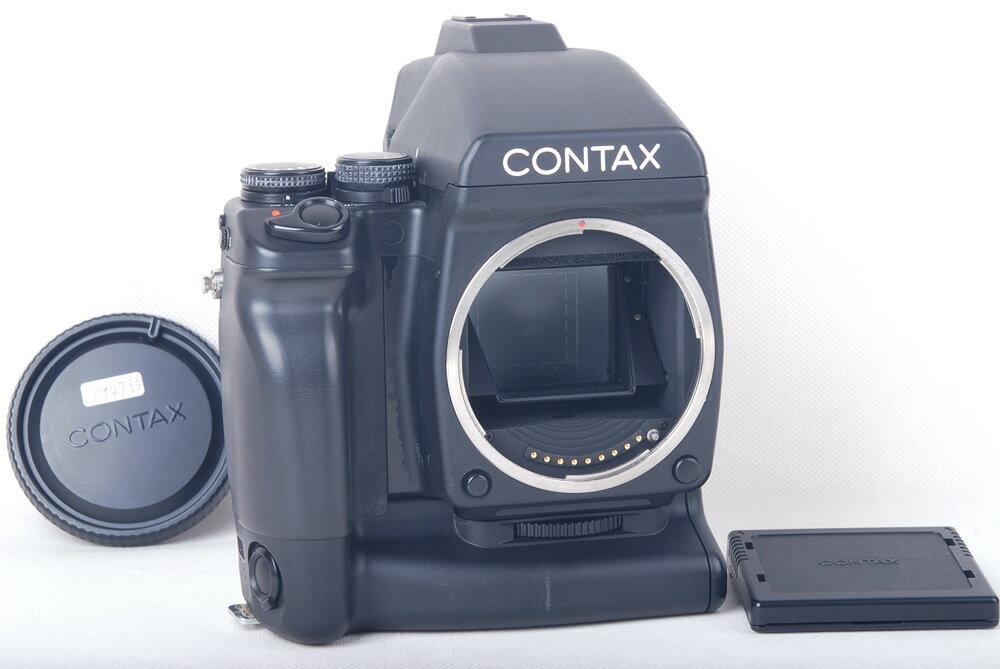 コンタックス CONTAX 645 ボディ+MF-1ファインダー MP-1電池ハンドル