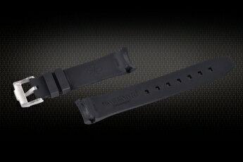 Rolex/ロレックス Sea-Dweller 116600用VAGENARIバイトン ラバー ストラップ バックル付 ブラック