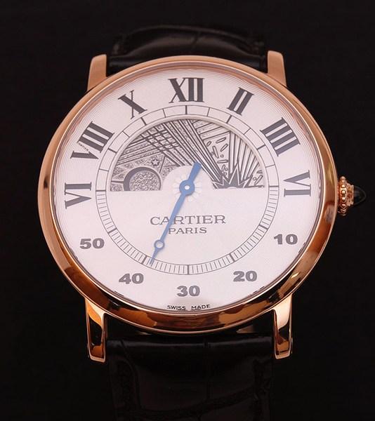 ★美品★CARTIERカルティエ W1550051 Rotonde CPCP 42mm メンズ 腕時計