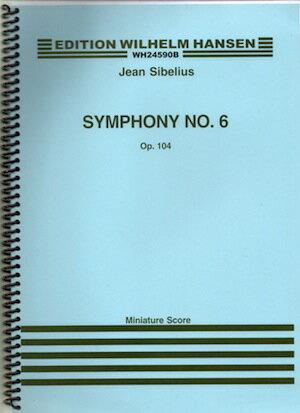 輸入楽譜/スコア/シベリウス:交響曲 第6番 ニ短調 Op.104