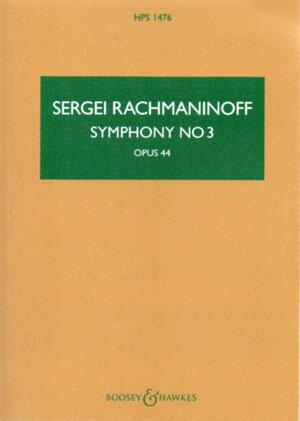 輸入楽譜/スコア/ラフマニノフ:交響曲 第3番 イ短調 Op.44