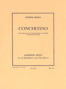 輸入楽譜/チューバ/ボザ:チューバまたはバストロンボーンのための小協奏曲(コンチェルティーノ)