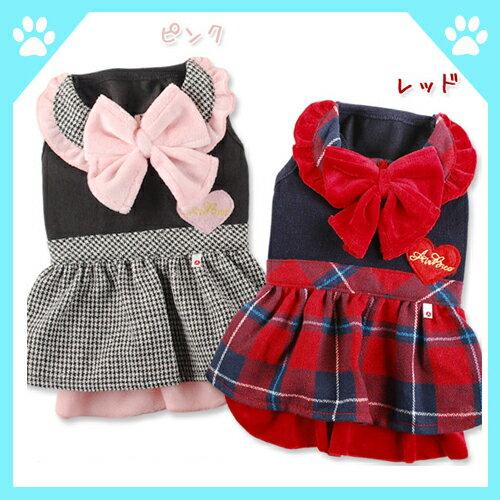 秋 冬 犬服 セール ワンピース Let'sコンサートワンピ エアバルーン (ドレス 礼服) ペット 犬 服 (ドッグ ウエア ドッグウエア) 小型犬 ペット服 ペットウェア