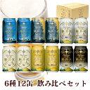 ハロウィン パーティー クラフトビール ビール 軽井沢ビール 飲み比べ 詰め合せ セット プレゼント プチギフト クリア ダーク 白ビール ヴァイス 黒ビール ブラック 6種類 350ml缶×12本 N-KA