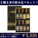 ★地ビール 飲み比べセット!★【全国送料無料】ブルーマスター クラフトビール飲みくらべギフト8本セット