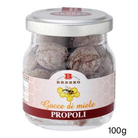 プロポリス入りはちみつキャンディーHoney Drops - Propolis -100g【 プロポリス はちみつ キャンディー 飴 あめ 】
