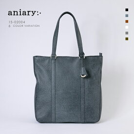 【aniary アニアリ】Grind Leather グラインドレザー 牛革 Tote トートバッグ 15-02004 メンズ [送料無料]