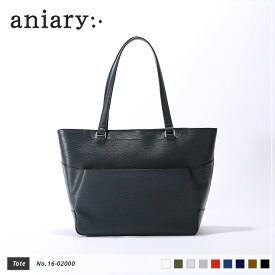 【aniary|アニアリ】Wave Leather ウェーブレザー 牛革 Tote トートバッグ 16-02000 メンズ [送料無料]
