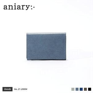 【aniary|アニアリ】Inheritance Leather インヘリタンスレザー 牛革 Goods カードケース 名刺入れ 21-20004 メンズ [送料無料]