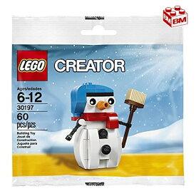 レゴ クリエーター スノーマン(雪だるま)│LEGO Creator Snowman Polybag 【30197】