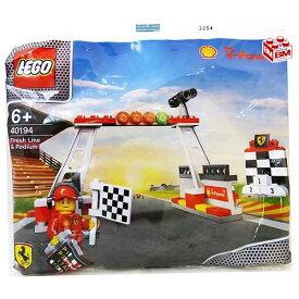 レゴ フィニッシュラインと表彰台、フェラーリエンジニア付属(ゴールと表彰台)│LEGO Finish Line and Podium with a Ferrari Engineer【40194】