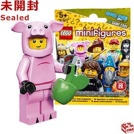 レゴ ミニフィギュア シリーズ12 ブタの着ぐるみを着た男|LEGO Minifigures Series12 Piggy Guy 【71007-14】