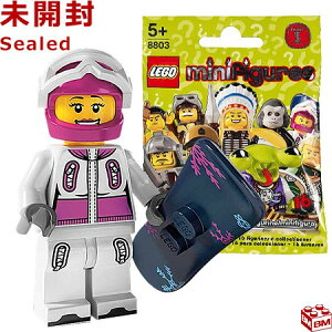 レゴ ミニフィギュア シリーズ3 スノーボーダー|LEGO Minifigures Series3 Snowboarder 【8803-5】