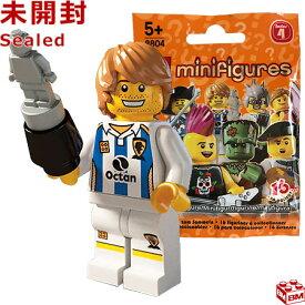 レゴ ミニフィギュア シリーズ4 サッカー選手|LEGO Minifigures Series4 Soccer Player 【8804-11】