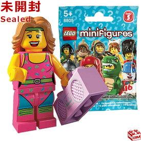 レゴ ミニフィギュア シリーズ5 フィットネスインストラクター|LEGO Minifigures Series5 Fitness Instructor 【8805-10】