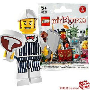 レゴ ミニフィギュア シリーズ6 肉屋|LEGO Minifigures Series6 Butcher 【8827-14】