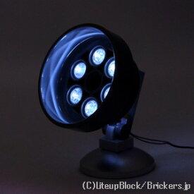 レゴ カスタム パーツ ランプポスト 街灯 ホワイト LED USB給電式 [ Black / ブラック ] | lego
