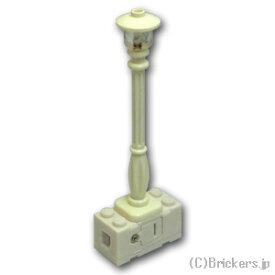 レゴ カスタム パーツ ランプポスト 街灯 ホワイト LED [ White / ホワイト ] | lego