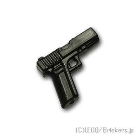 レゴ カスタム パーツ ミニフィグ マシンピストル G18C [Black/ブラック] | レゴ互換品 ミニフィギュア 人形 ミリタリー 武器 銃 ピストル