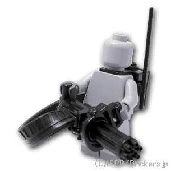 有Lego特別定做零件小癌給弾皮帶&ECB背包的[Black/黑色]  lego小花式滑水玩偶空想武器裝備 Brickers