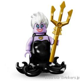 レゴ ディズニー ミニフィギュア シリーズ アースラ | lego 71012 ミニフィグ