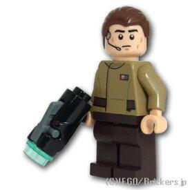 レゴ スター・ウォーズ ミニフィグ 反乱軍将校 ヘッドセット | lego フィギュア 人形 ミニフィギュア スターウォーズ