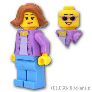 レゴ シティ ミニフィグ お母さん ( 60134 ) | lego フィギュア 人形 ミニフィギュア