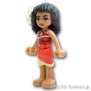レゴ ディズニー ミニフィグ モアナ レッドスカート ( 41149 ) | lego フィギュア 人形 ミニフィギュア