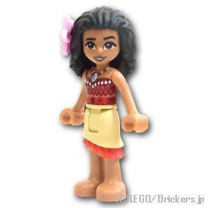 レゴ ディズニー ミニフィグ モアナ タンスカート ( 41150 ) | lego フィギュア 人形 ミニフィギュア