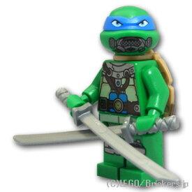 レゴ ミュータントタートルズ ミニフィグ レオナルド - スキューバギア | lego フィギュア 人形 ミニフィギュア