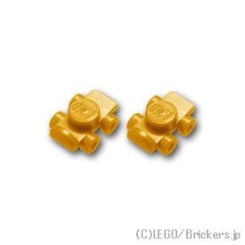 レゴ パーツ ローラースケート 2個セット [ Pearl Gold / パールゴールド ]   lego 部品