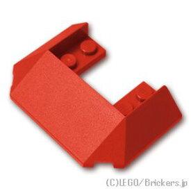レゴ トレイン ルーフ 6 x 4 [Red/レッド]   LEGO純正品の バラ 売り 電車 パーツ