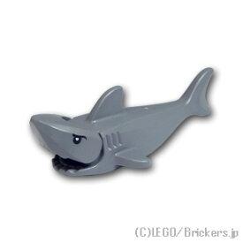 レゴ 動物 パーツ サメ アイパターン [ Dark Bluish Gray / ダークグレー ]   lego シャーク 鮫