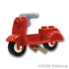 レゴ パーツ スクーター ダークタンスタンド&グレーハンドル [ Red / レッド ] | lego 部品
