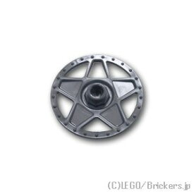 レゴ パーツ ホイールカバー - 5スポーク(56145用) [ Flat Silver / フラットシルバー ] | lego 部品