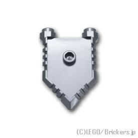 レゴ ミニフィグ パーツ ペンタゴンシールド [ Flat Silver / フラットシルバー ] | lego 部品 ミニフィギュア 装備 盾
