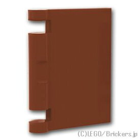 レゴ パーツ 本の表紙 [ Reddish Brown / ブラウン ]   lego 部品