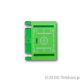 レゴ パーツ 本の表紙 HUD パターン [ Tr,Green / トランスグリーン ]   lego 部品