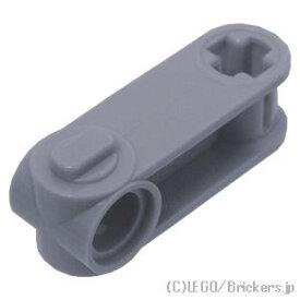 レゴ パーツ テクニック 軸/ピンコネクター - 垂直 3L [ Light Bluish Gray / グレー ] | lego 部品