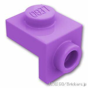 レゴ パーツ ブラケット 1 x 1 / 1 x 1 [ Md,Lavender / ミディアムラベンダー ]   lego 部品