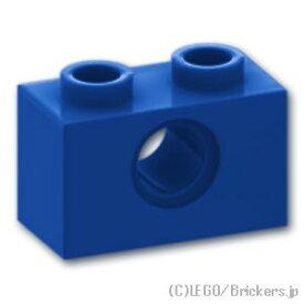 レゴ テクニック パーツ ブロック 1 x 2 - 穴1 [Blue/ブルー]   LEGO純正品の バラ 売り