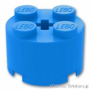 レゴ パーツ ブロック 2 x 2 - ラウンド [ Dark Azure / ダークアズール ]   lego 部品