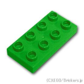 レゴ デュプロ パーツ プレート 2 x 4 [ Bt,Green / ブライトグリーン ] | lego 部品 ブロック