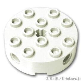 レゴ テクニック パーツ ブロック 4 x 4 - ラウンド [White/ホワイト]   LEGO純正品の バラ 売り