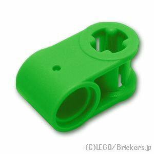 レゴ テクニック パーツ 軸 / ピンコネクター - 垂直 [ Bt,Green / ブライトグリーン ] | lego 部品
