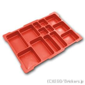 レゴ マインドストーム ストレージ Mサイズ - トレー [Red/レッド] | LEGO純正品の バラ 売り